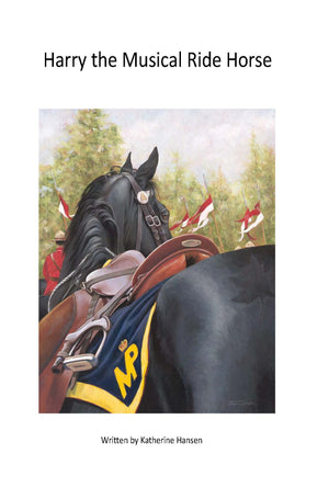Harry the Musical Ride Horse - Book EN