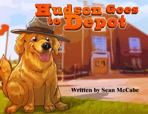 Hudson Goes To Depot - Book