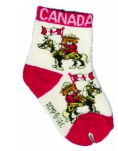 Infant Horse & Bear Socks