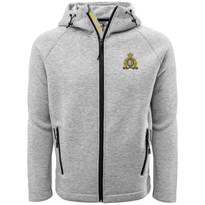 Ladies Full Zip Crest Hoodie