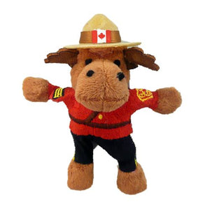 Plush Moose Magnet