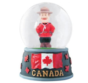 Officer Snow Globe