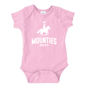 Mounties Infant Baby Rib Bodysuit