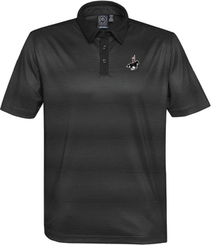 RCMP Men's Stormtech Vibe Performance Polo Black