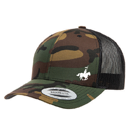 RCMP Camo Adjustable Trucker Hat - The Mountie Shop 76ed350a478