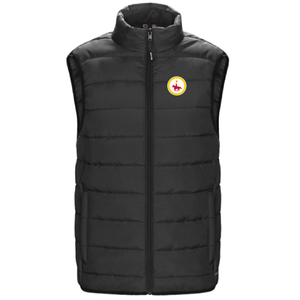 Ladies Puffy Vest with Patch