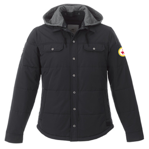 Mens Roots Jacket with Patch