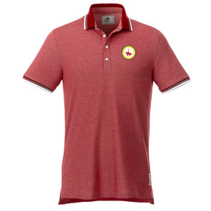 Mens Roots Polo with Patch