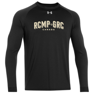 RCMP-GRC Mens UA Long Sleeve Locker Tee