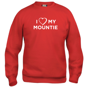 I ♥ My Mountie Crew Neck