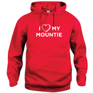 I ♥ My Mountie Hoodie