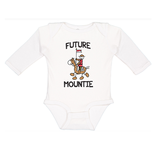 Infant Future Mountie Long Sleeve Onesie
