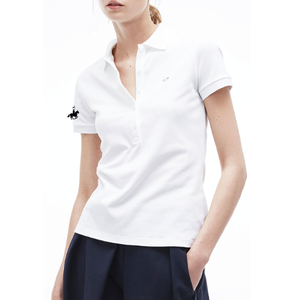 Lacoste Womens Slim Fit Stretch Polo