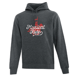 Musical Ride Charcoal Youth Hoodie