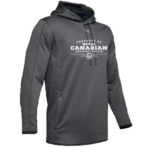 UA Double Threat Hood Charcoal