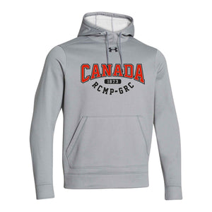Under Armour Grey Fleece Hoodie