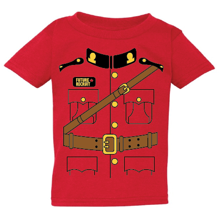 1bd4196cd0c RCMP Uniform Youth Tee.  19.99. Features  100% preshrunk cotton  seamless  non topstitched 7 8