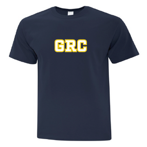 GRC Navy Mens Short Sleeve Tee