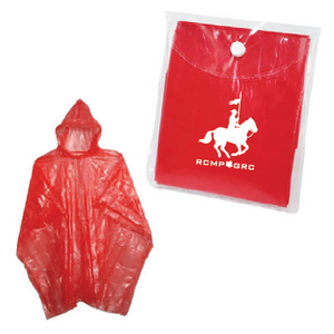 RCMP GRC Rally Disposable Poncho