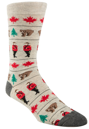 Mountie Socks