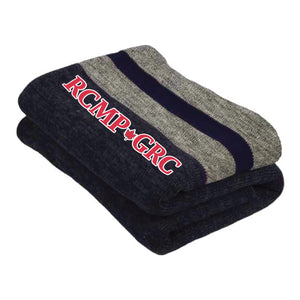 RCMP-GRC Work Sock Blanket