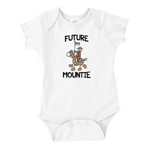 Future Mountie Baby Rib Bodysuit