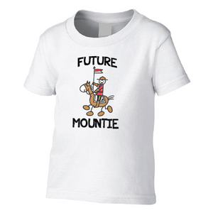 Future Mountie Toddler Tee