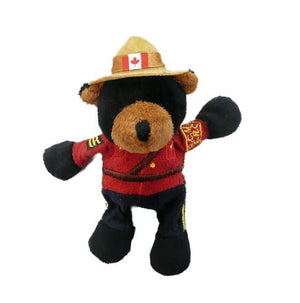 Plush Black Bear Magnet