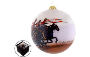"""The Charge"" Christmas Ball Ornament"