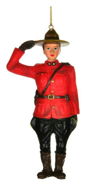Female Officer Ornament