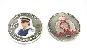 First Female Troop Coin