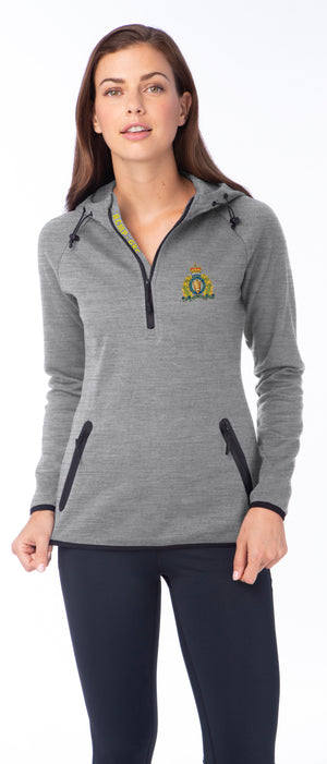 Ladies 1/4 Zip Performance Sweater