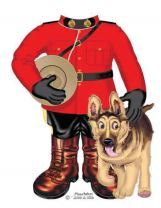 Mountie Onesie With Dog