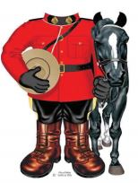 Mountie Onesie with Horse