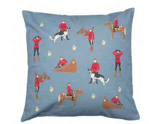 Action Mountie Pillow Cover