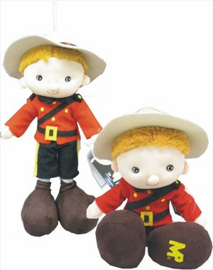 RCMP Plush Kid Mountie