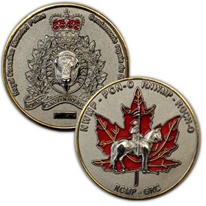 RCMP Regimental Challenge Coin