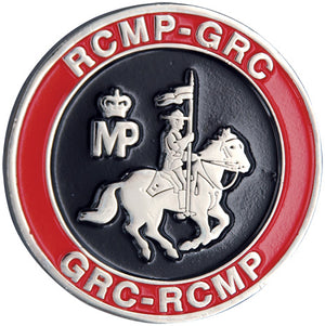 RCMP Silver Challenge Coin