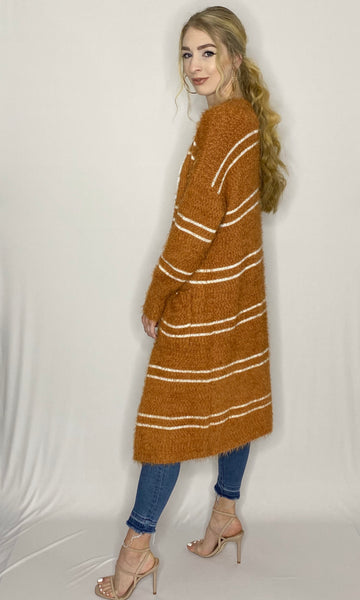 Sophie Striped Cardigan