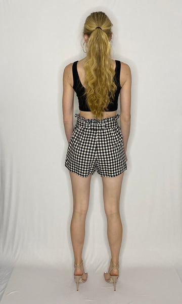 Casey Checkered Shorts