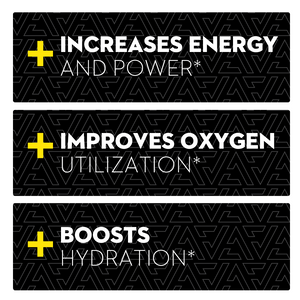 Revel Energy ingredients increases energy and power*, improves oxygen utilization*, and boosts hydration*