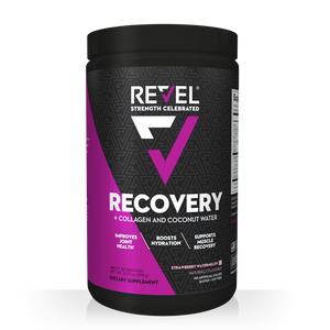 Revel Strawberry Watermelon Recovery front bottle shot
