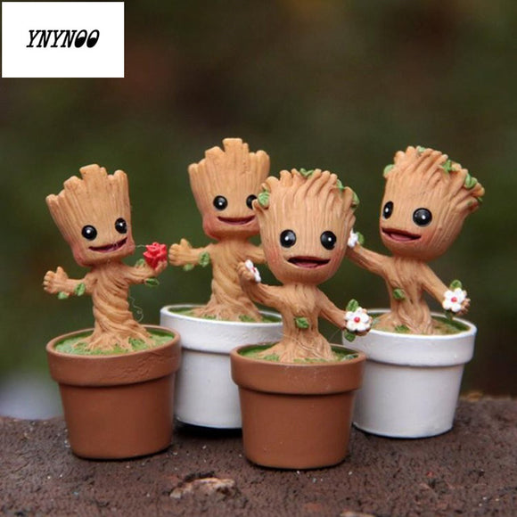 Guardians Of The Galaxy Baby Groot Model Figurine