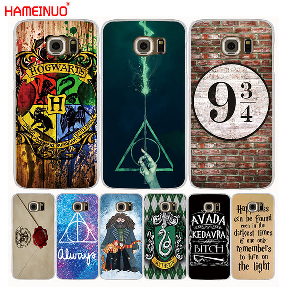 Assorted Harry Potter Phone Cases for Samsung