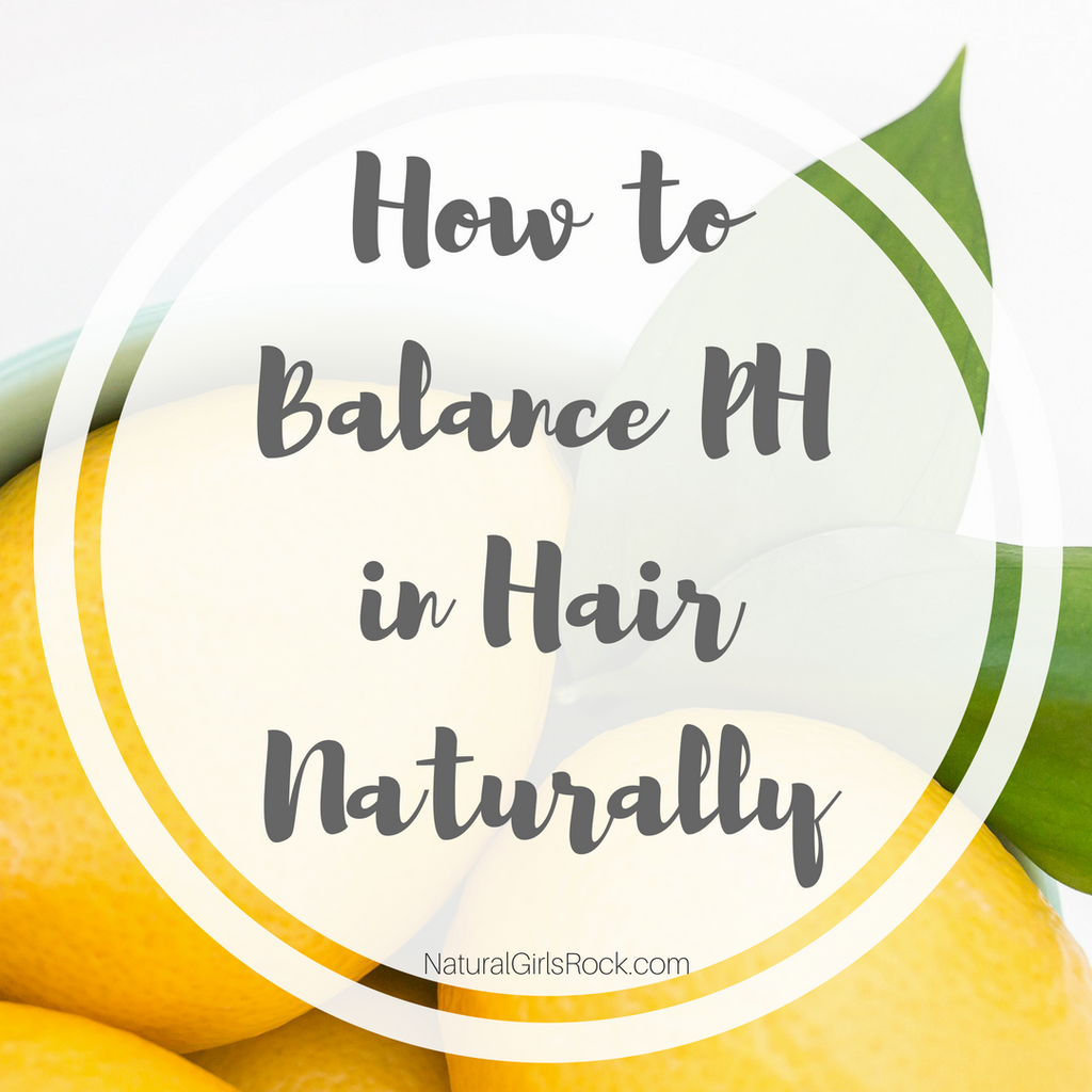 How To Balance PH in Hair Naturally
