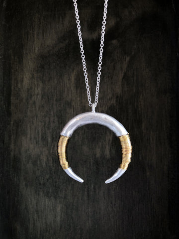 """Rising of the Moon"" Necklace"