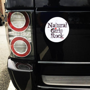 Natural Girls Rock CAR MAGNET