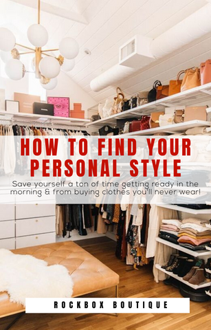 """How to find your personal style"" E-BOOK"