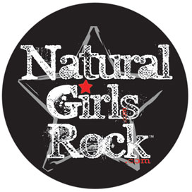 Natural Girls Rock Button!!