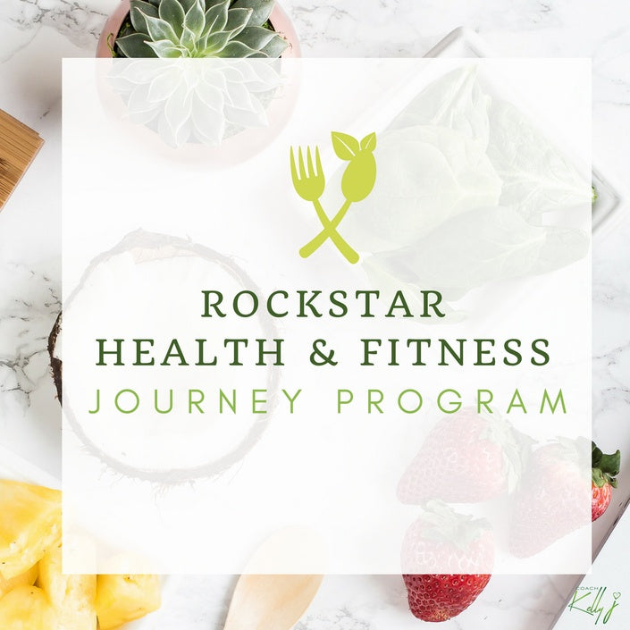 "RockStar Health & Fitness Journey Program ""Taking Back Control"" - Online Course"